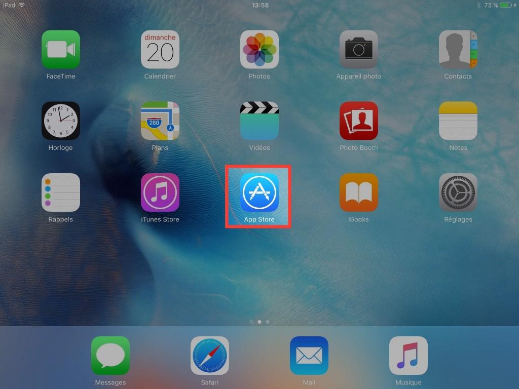 Retrouvez vos achats - App Store