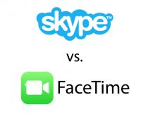 Skype versus FaceTime