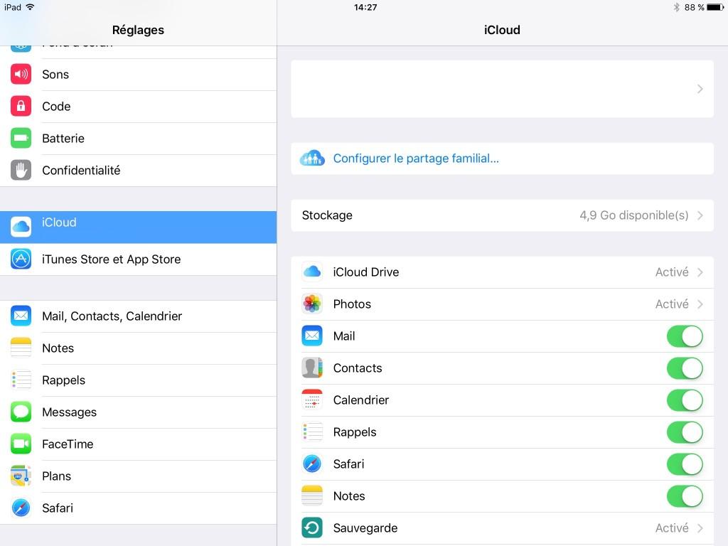 iCloud - setup - Apple - Ptit Pepin