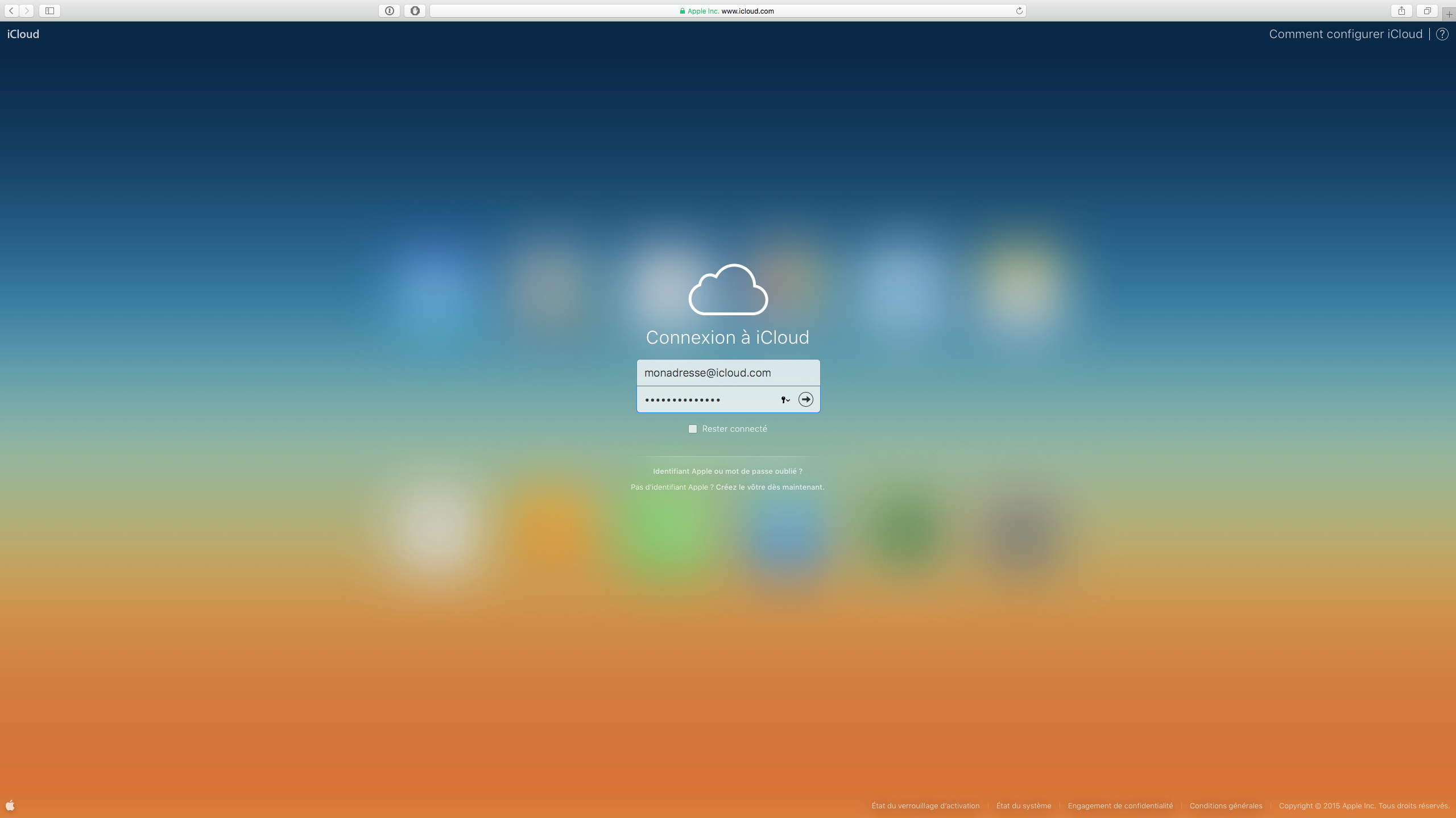 forcer synchro icloud