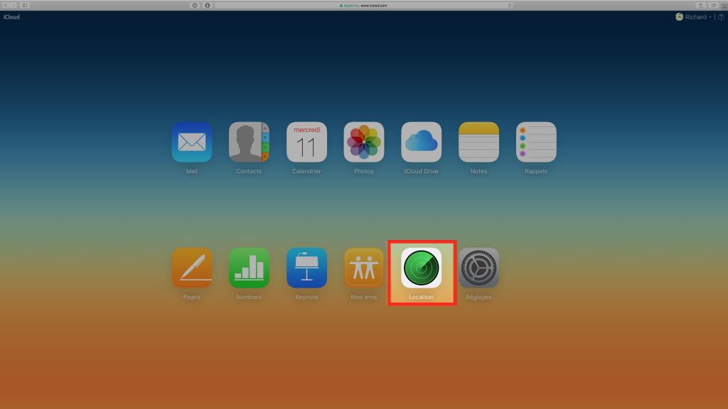iCloud - Localiser - iPhone - iPad - Mac - Ptit Pepin