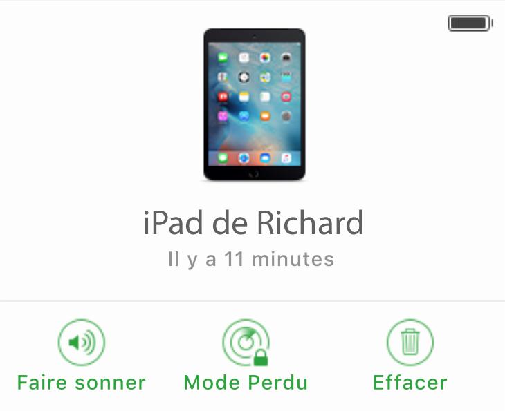 Localiser - Effacer - Mode Perdu - iCloud - Localiser - iPhone - iPad - Ptit Pepin