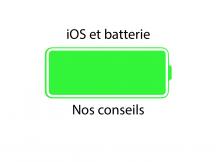 iOS - Batterie - Battery - iPhone - iPad - P'tit Pepin