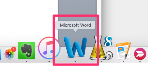 Icône Microsoft Word